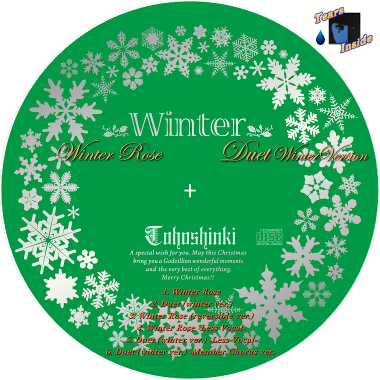 東方神起 winter winter rose duet winter ver tohoshinki