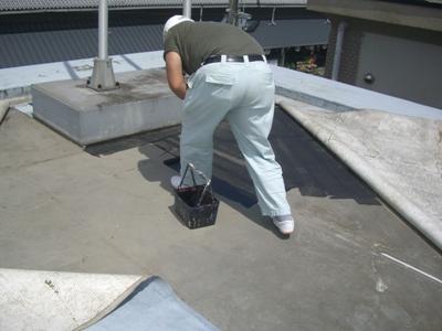 某施設屋根防水補修