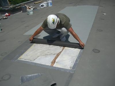 屋根防水補修 ~完了