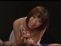 主観映像で淫語責めローション手コキ:瀬名一花